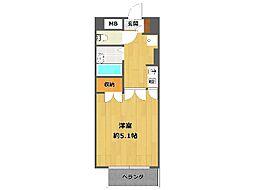 ダンディライオン宝塚[3階]の間取り