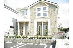 愛知県岡崎市渡町字大榎の賃貸アパートの外観