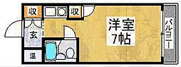 メゾンド八重[3階]の間取り
