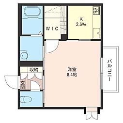 M−Kハウス[2階]の間取り