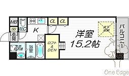 NORTH VILLAG BIRTH PLACE 本館[7階]の間取り