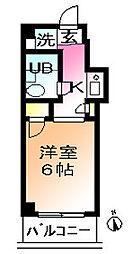 ウィンベルソロ鶴川第一[4階]の間取り