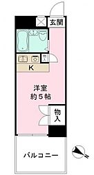 プレステージ東武練馬[5階]の間取り
