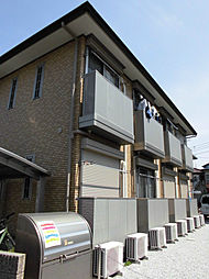 東京都昭島市東町3丁目の賃貸アパートの外観