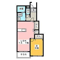 INUI36B[1階]の間取り