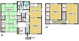 [一戸建] 香川県高松市由良町 の賃貸【/】の間取り