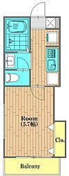 ジェラート 102号室[102号室号室]の間取り