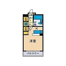 ワコーレエレガンス鶴巻温泉No.2[1階]の間取り