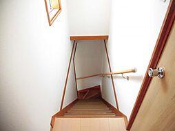 2階からの階段...