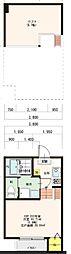 新築(仮称)大阪市平野区平野市町2丁目・SKHコーポ[202号室]の間取り
