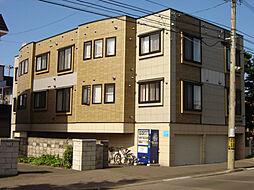 北海道札幌市東区北三十九条東16丁目の賃貸アパートの外観