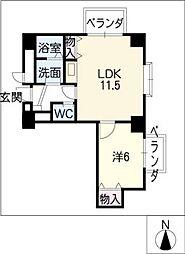 ベラビスタ柴田[2階]の間取り