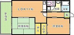 マキハウス[1階]の間取り