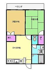 第一小島ビル[202号室]の間取り