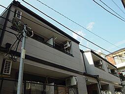 兵庫県神戸市灘区将軍通3丁目の賃貸アパートの外観