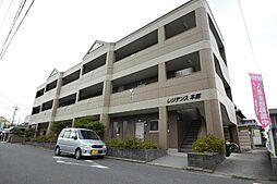 愛知県あま市本郷柿ノ木の賃貸マンションの外観