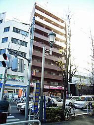 東京都新宿区西新宿7丁目の賃貸マンションの外観