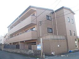 大阪府東大阪市横小路町の賃貸マンションの外観