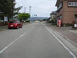 北東側道路