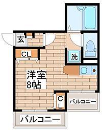 兵庫県神戸市須磨区友が丘7丁目の賃貸マンションの間取り