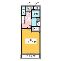 リバパレス鶴舞[6階]の間取り
