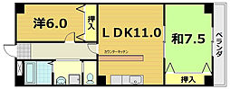 ラベンダー90[3階]の間取り