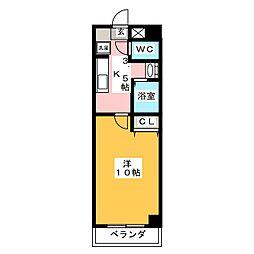 KAWIC GOKISO[4階]の間取り