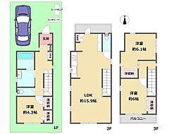 尼崎センタープール前駅 2,820万円