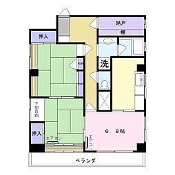 ヨシカイビル[4階]の間取り