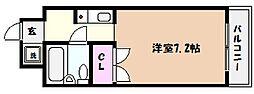 OMアシヤ[2階]の間取り