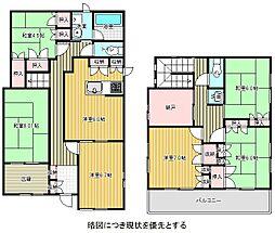 [一戸建] 愛知県名古屋市名東区平和が丘3丁目 の賃貸【/】の間取り