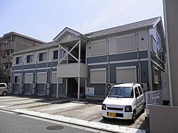 神奈川県平塚市西八幡4丁目の賃貸アパートの外観