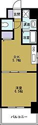 KWレジデンス九条2[7階]の間取り