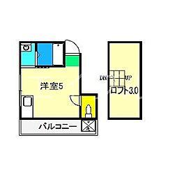 アリストハイツ[2階]の間取り