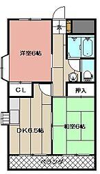 林ビル3[105号室]の間取り