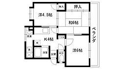 レオーネマンション[3階]の間取り