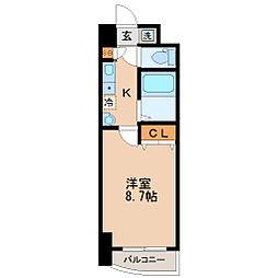 S-FORT宮町[7階]の間取り