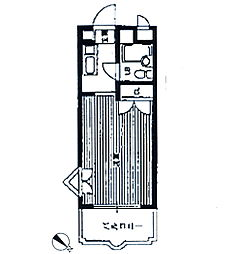 メゾン・ド・セリーズ[7階]の間取り