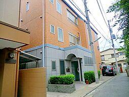 東京都大田区中央3丁目の賃貸マンションの外観