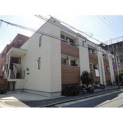 福岡県福岡市中央区港3丁目の賃貸アパートの外観