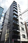 こちらはマンションの外観写真です。洗練されたデザインとなっております