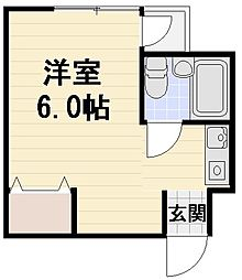 JPアパートメント守口V[205号室]の間取り