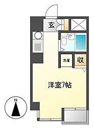 kawakadoビル[2階]の間取り