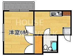 ストークマンション[305号室号室]の間取り