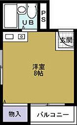 ポートビル坂本[3階]の間取り