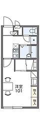 レオパレスリーベン[1階]の間取り