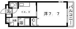 エクセル沢ノ町[1階]の間取り