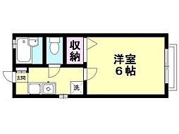 アイ三田[101号室号室]の間取り