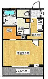 宮原3丁目シャーメゾンB[203号室]の間取り