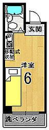ユーシティ早川[305号室]の間取り